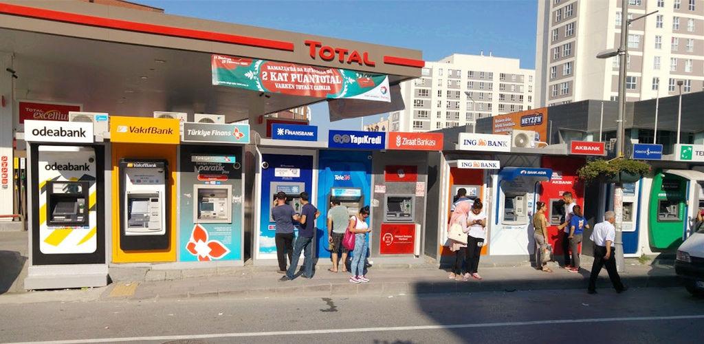 土耳其市區ATM