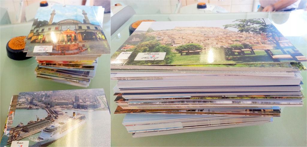 土耳其郵局明信片