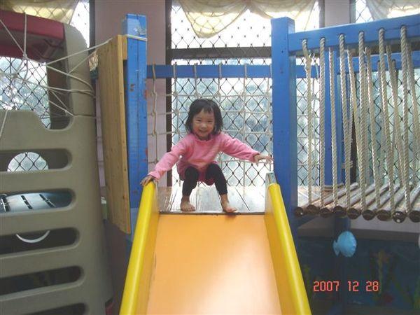 2-6歲室的大溜滑梯