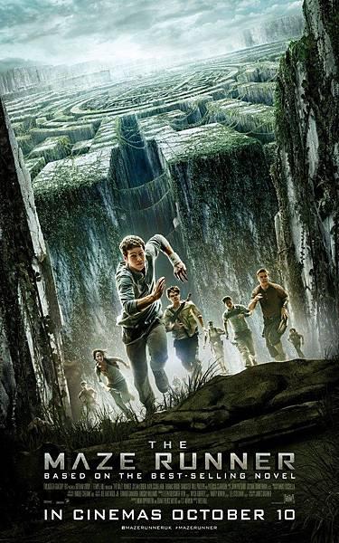《移動迷宮》原版海報