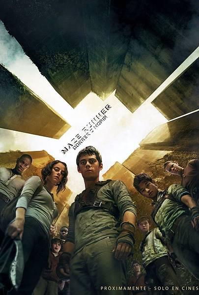 《移動迷宮》原版海報-3