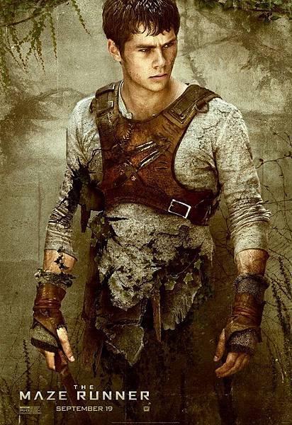 《移動迷宮》湯瑪士Thomas /狄倫.歐布萊恩 飾