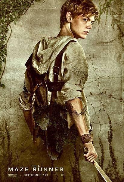 《移動迷宮》紐特Newt /湯瑪士.桑斯特 飾