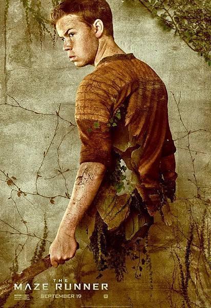 《移動迷宮》伽利Gally /威爾.普爾特 飾