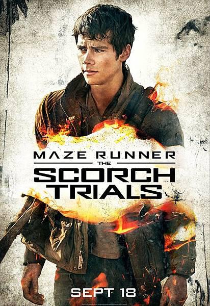 《移動迷宮:焦土試煉》湯瑪士Thomas /狄倫.歐布萊恩 飾