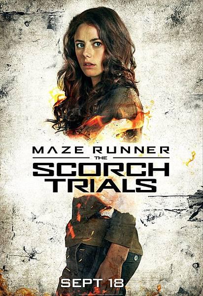 《移動迷宮:焦土試煉》泰瑞莎Teresa /卡雅斯.考達里奧 飾