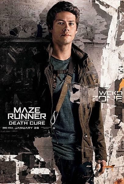 《移動迷宮:死亡解藥》湯瑪士Thomas /狄倫.歐布萊恩 飾