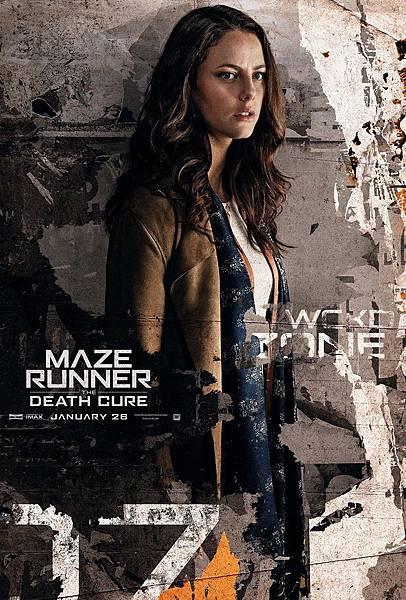 《移動迷宮:死亡解藥》泰瑞莎Teresa /卡雅斯.考達里奧 飾
