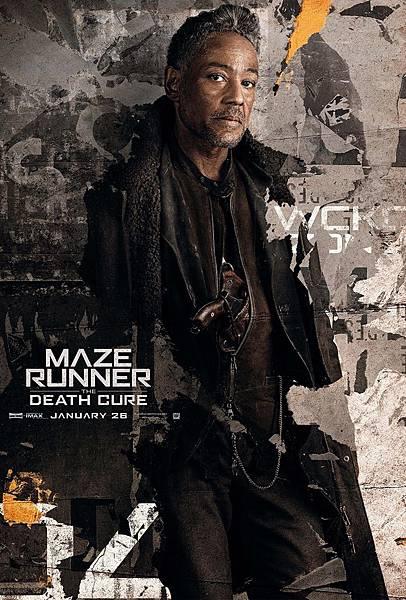 《移動迷宮:死亡解藥》豪爾赫Jorge /吉安卡洛.伊坡托 飾