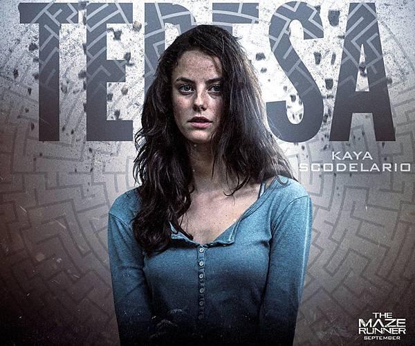 《移動迷宮》泰瑞莎Teresa /卡雅斯.考達里奧 飾