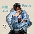 Perth泡芙 生日快樂!