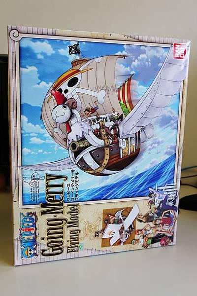 日本授權 飛天版黃金梅莉號!