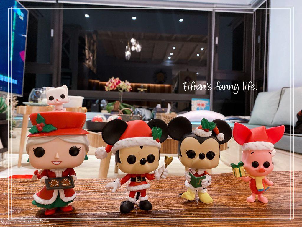 FUNKO POP 收藏公仔 迪士尼聖誕系列 米奇米妮