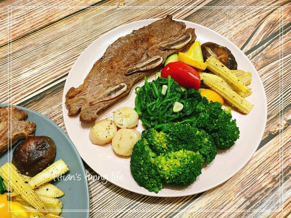 愛食鮮Icefresh安格斯牛排 北海道生食級干貝組