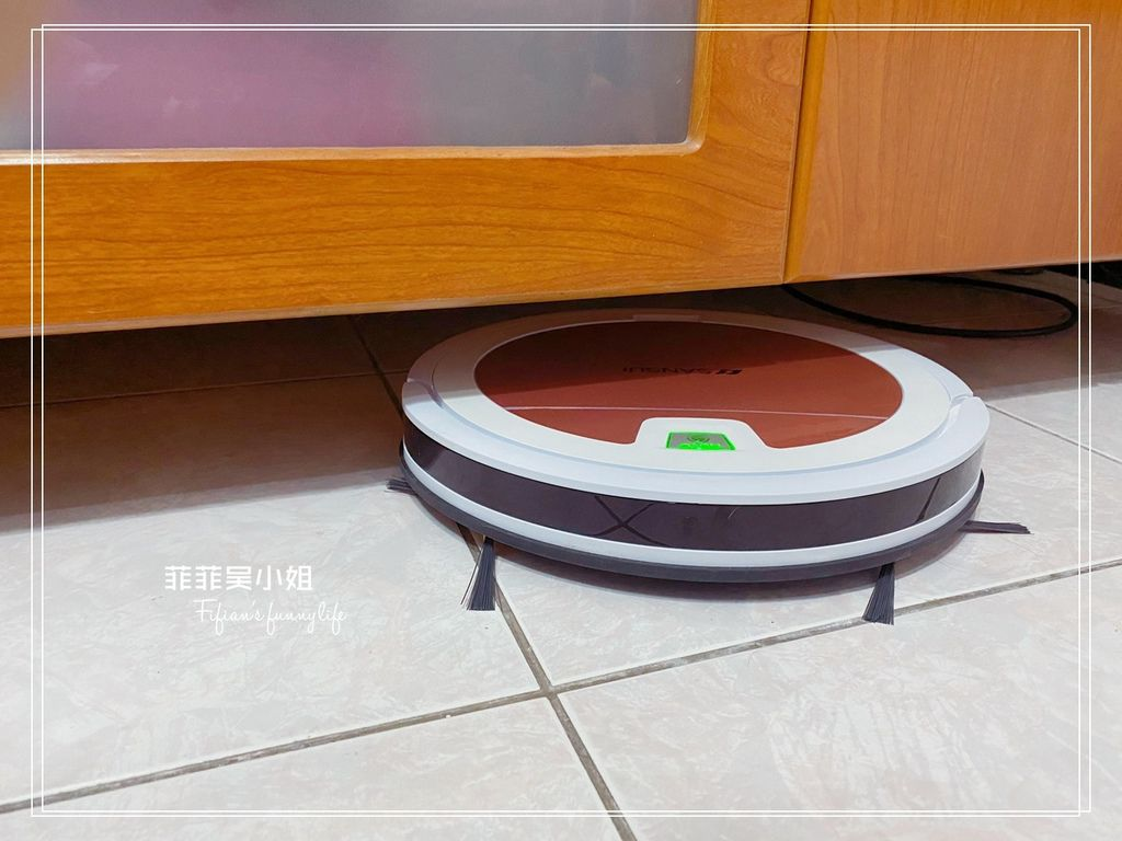 SANSUI山水 WIFI智能超薄濕拖掃地機器人