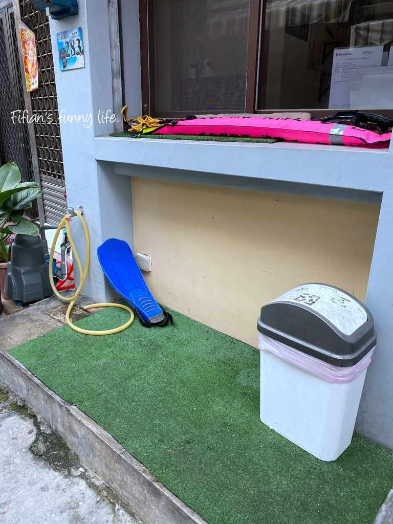 小琉球二天一夜 居琉潛水背包客棧