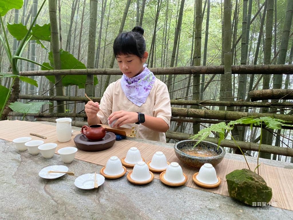 梅山瑞里竹林茶席體驗