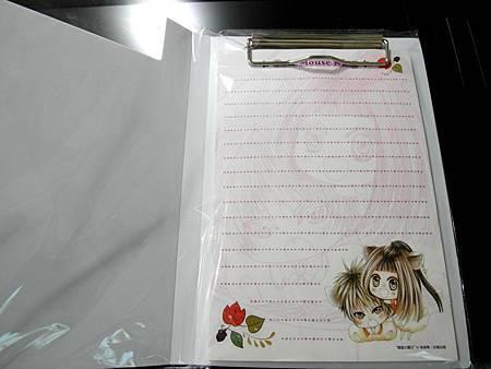 小霸王和樂融融款PP板夾+信紙組 (2)