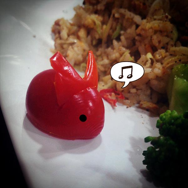 兔子兔子,貼心的廚師