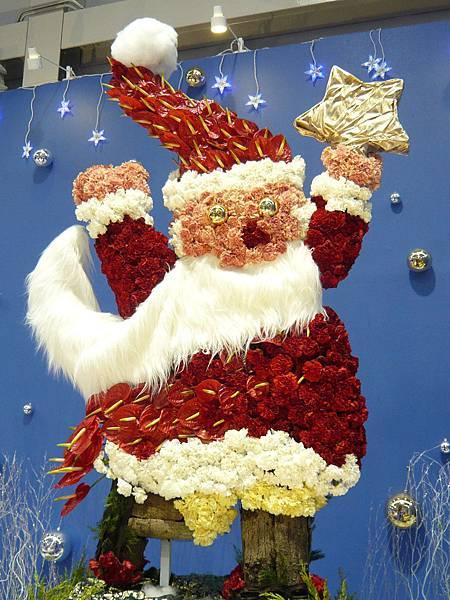 可愛聖誕老公公