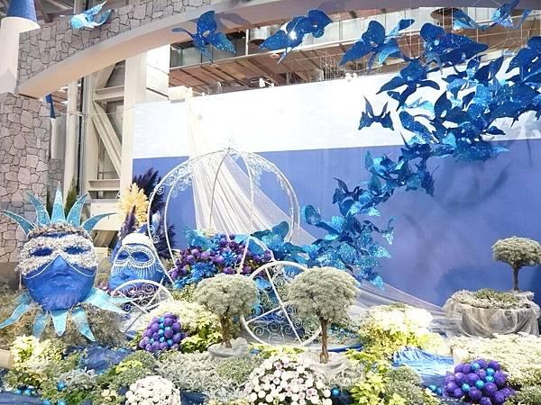 藍紫威尼斯