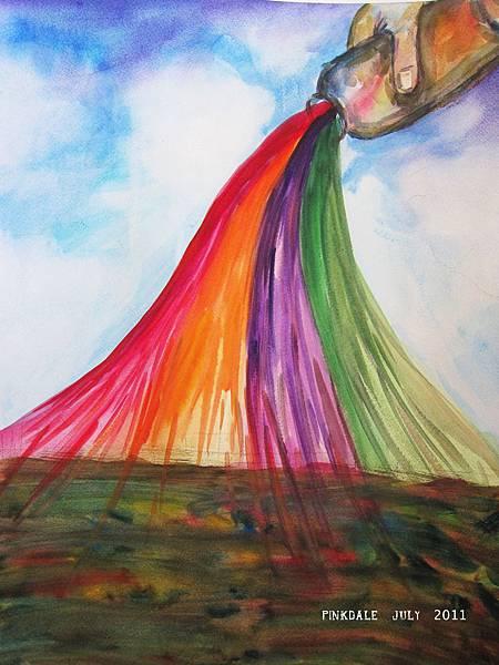 用愛,用信心,用盼望,用勇氣滋潤每一處。