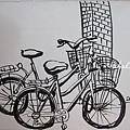 家附近的洩氣腳踏車們