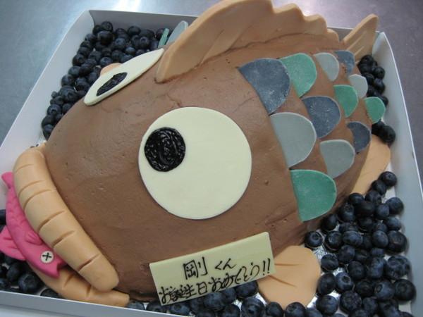 FROM西田喜孝桑BLOG-剛28才蛋糕