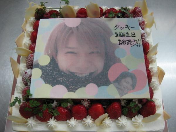 TAKKI的蛋糕好有愛XD