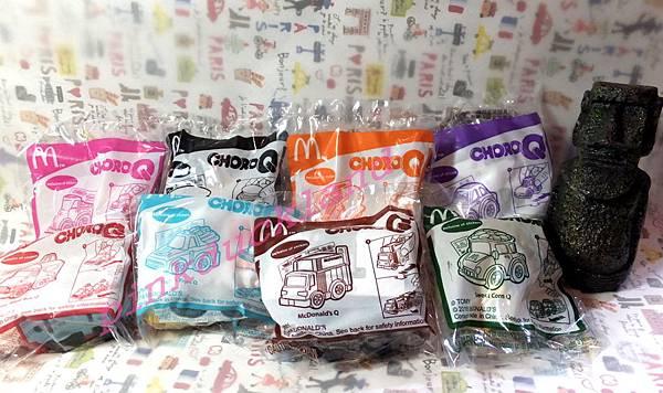 2016-08月 麥當勞玩具 CHORO-Q 迴力車 阿Q車