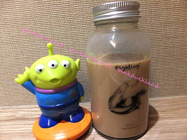 MILK TEA 小器官瓶 二頭肌 Fighting 大力拿鐵(大力蕎麥拿鐵)