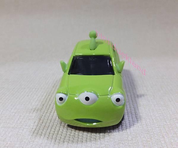 TAKARA TOMY TOMICA 迪士尼 夢幻外星人三眼怪小車 DM-05