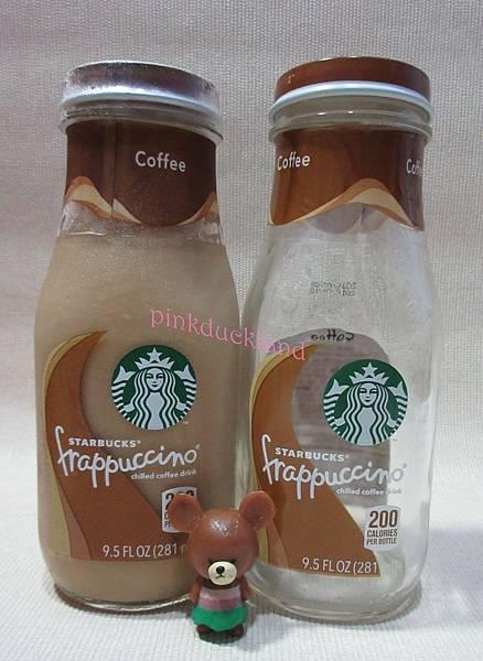星巴克 咖啡星冰樂 咖啡飲料 玻璃瓶281ML