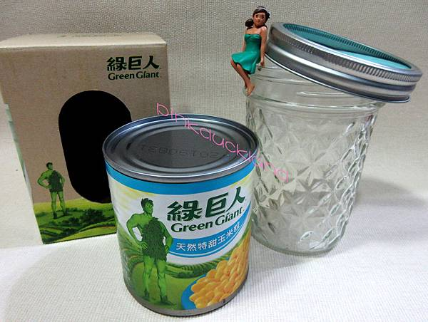 綠巨人玉米粒-玻璃沙拉罐