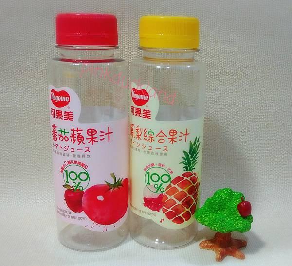 可果美 鳳梨綜合果汁 蕃茄蘋果汁