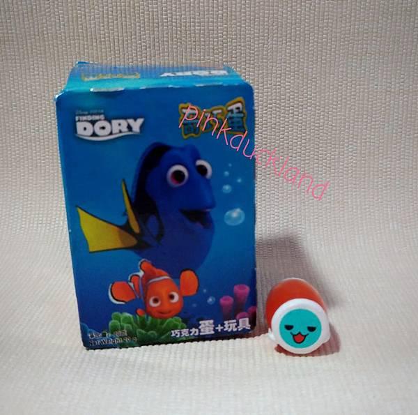 奇巧蛋 迪士尼動畫 尋找多莉 finddory 海狗