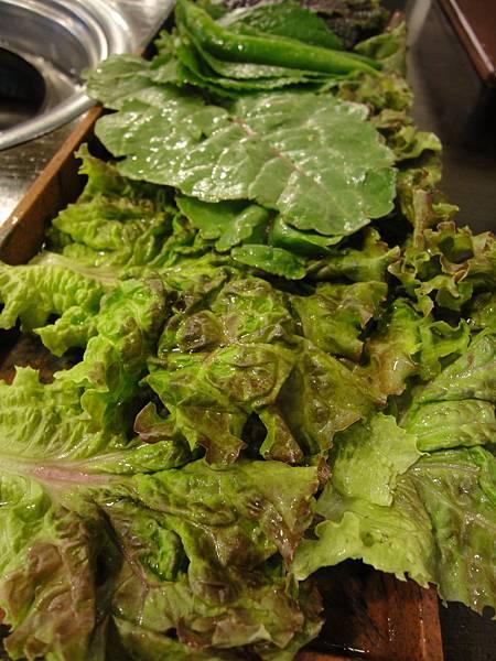 一盤大綠菜