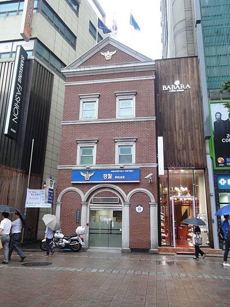 韓國ㄉ警察局