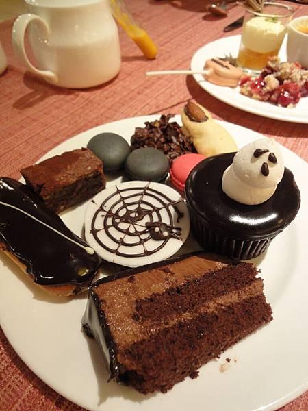 萬聖節的蛋糕日