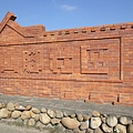 可愛的磚瓦牆