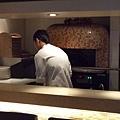 烤好吃pizza的爐子