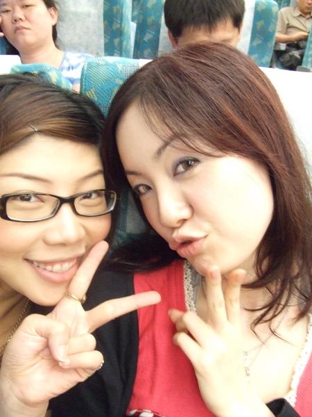 和佳佳同路回台北