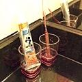 桃紅牙刷杯