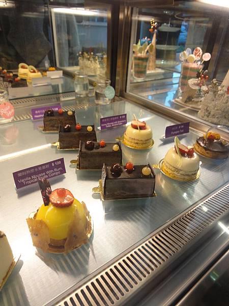 蛋糕陳列區