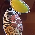 可愛ㄉ非洲鴕鳥殼盤