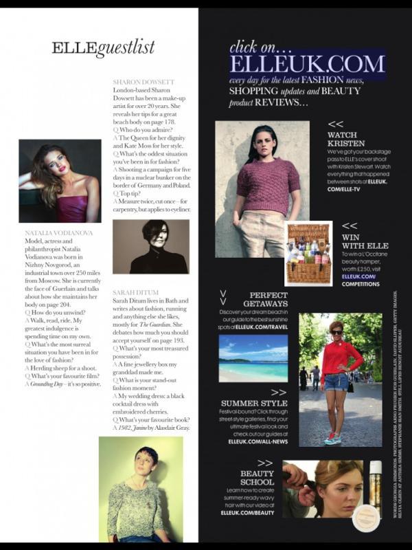 2012英國ELLE雜誌6月號 (12)