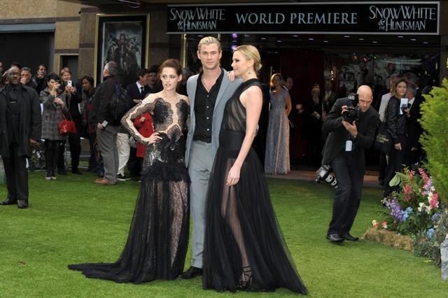《公主與狩獵者》倫敦首映-20120514 (6)