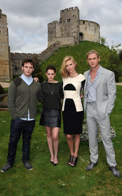 《公主與狩獵者》英國Arundel Castle城堡宣傳會-20120511 (1)