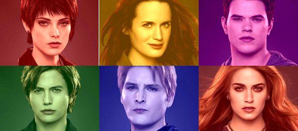 第二彈! The Cullens《破曉2》宣傳海報曝光!