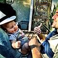 Jaksnon & son  his son Monroe Jackson Ratbhone VI-20120829